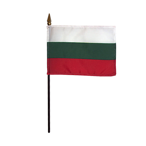 Miniature Bulgaria Flag - ColorFastFlags | All the flags you'll ever need!