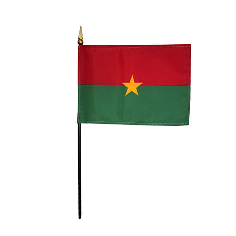 Miniature Burkina Faso Flag - ColorFastFlags | All the flags you'll ever need!