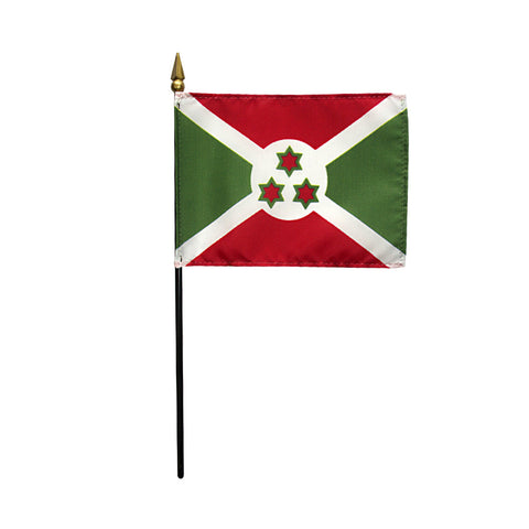 Miniature Burundi Flag - ColorFastFlags | All the flags you'll ever need!