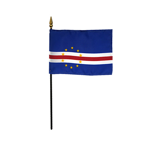 Miniature Cape Verde Flag - ColorFastFlags | All the flags you'll ever need!