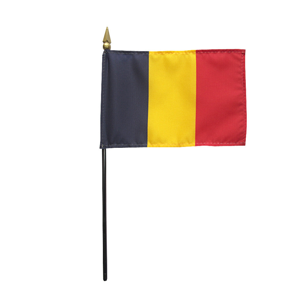 Miniature Chad Flag - ColorFastFlags | All the flags you'll ever need!