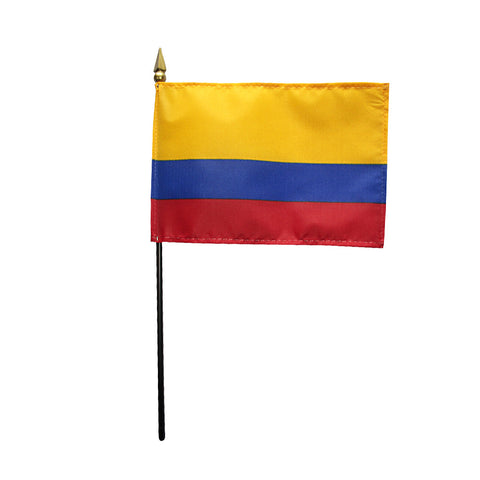 Miniature Colombia Flag - ColorFastFlags | All the flags you'll ever need!