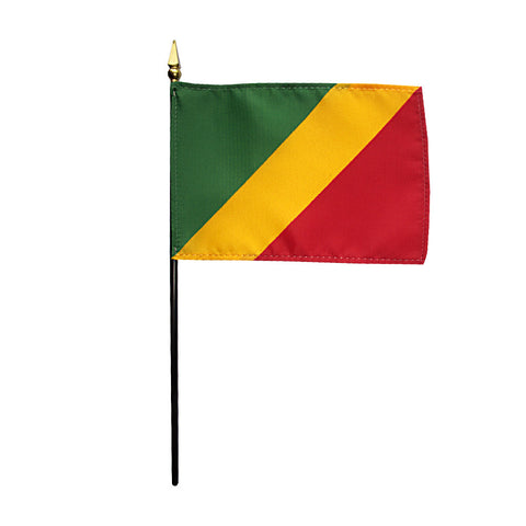 Miniature Congo Flag - ColorFastFlags | All the flags you'll ever need!