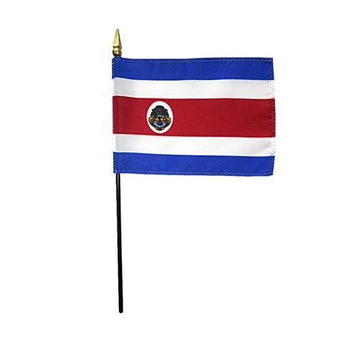 Miniature Costa Rica Flag - ColorFastFlags | All the flags you'll ever need!