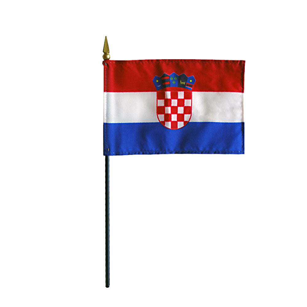 Miniature Croatia Flag - ColorFastFlags | All the flags you'll ever need!