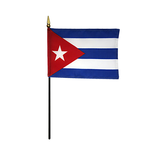 Miniature Cuba Flag - ColorFastFlags | All the flags you'll ever need!