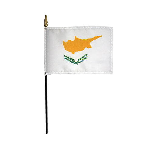 Miniature Cyprus Flag - ColorFastFlags | All the flags you'll ever need!