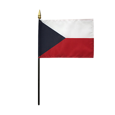 Miniature Czech Republic Flag - ColorFastFlags | All the flags you'll ever need!