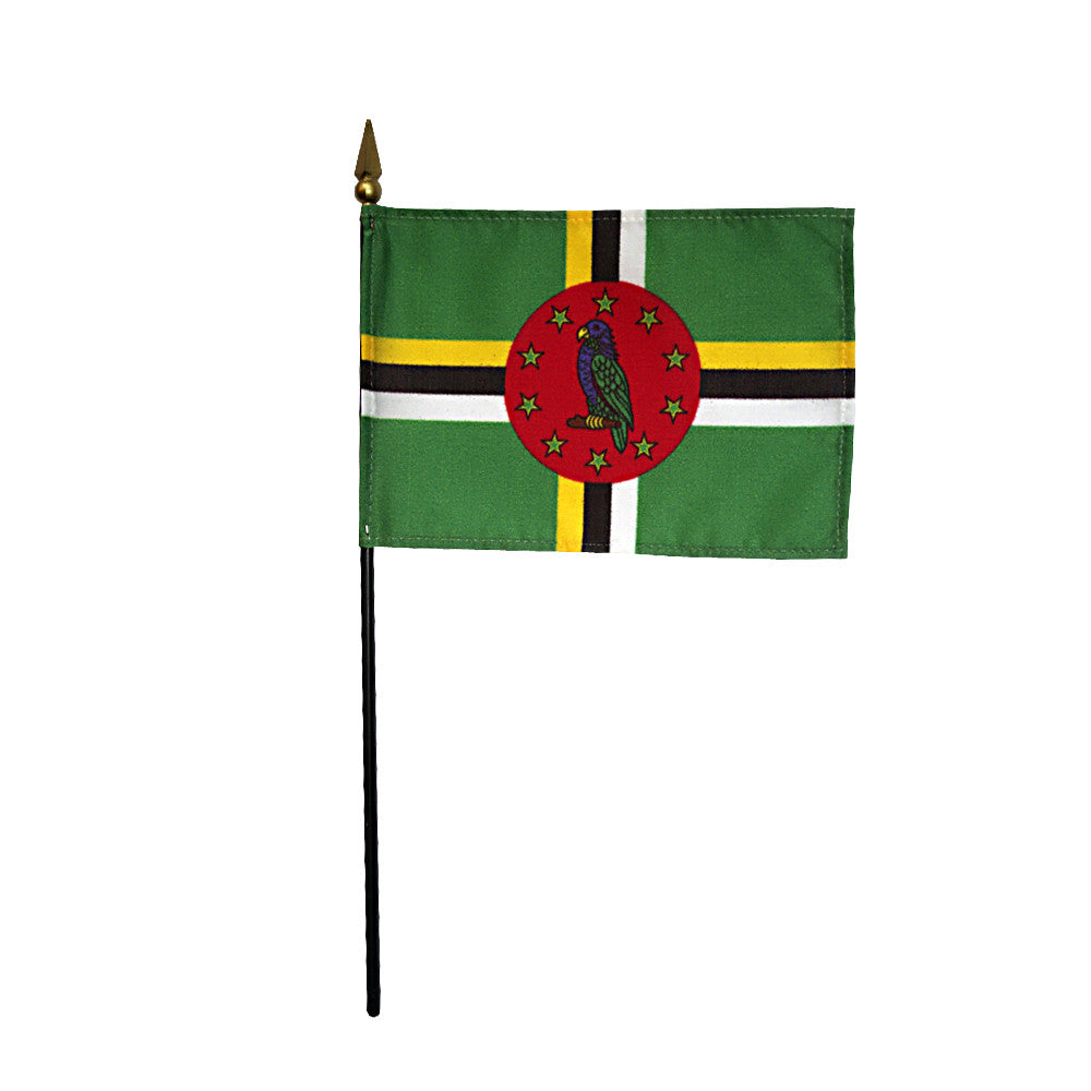 Miniature Dominica Flag - ColorFastFlags | All the flags you'll ever need!