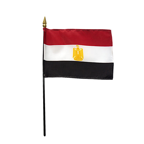 Miniature Egypt Flag - ColorFastFlags | All the flags you'll ever need!