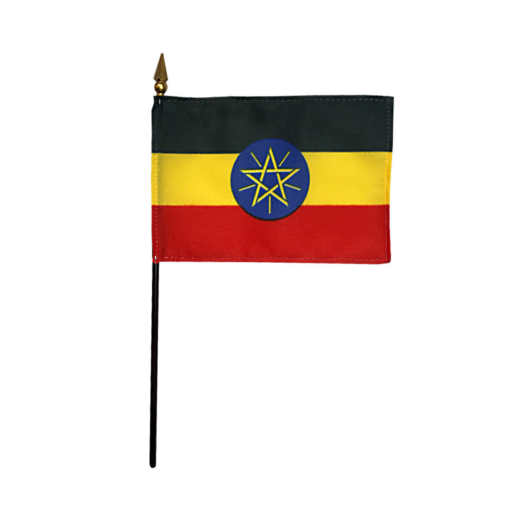 Miniature Ethiopia Flag - ColorFastFlags | All the flags you'll ever need!