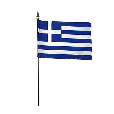 Miniature Greece Flag - ColorFastFlags | All the flags you'll ever need!
