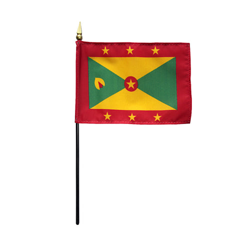 Miniature Grenada Flag - ColorFastFlags | All the flags you'll ever need!