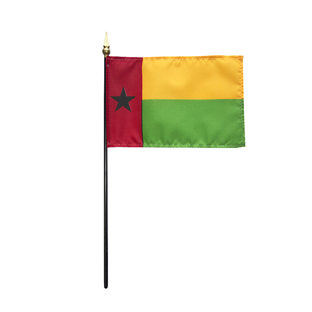 Miniature Guinea Bissau Flag - ColorFastFlags | All the flags you'll ever need!