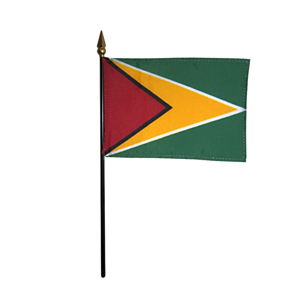 Miniature Guyana Flag - ColorFastFlags | All the flags you'll ever need!