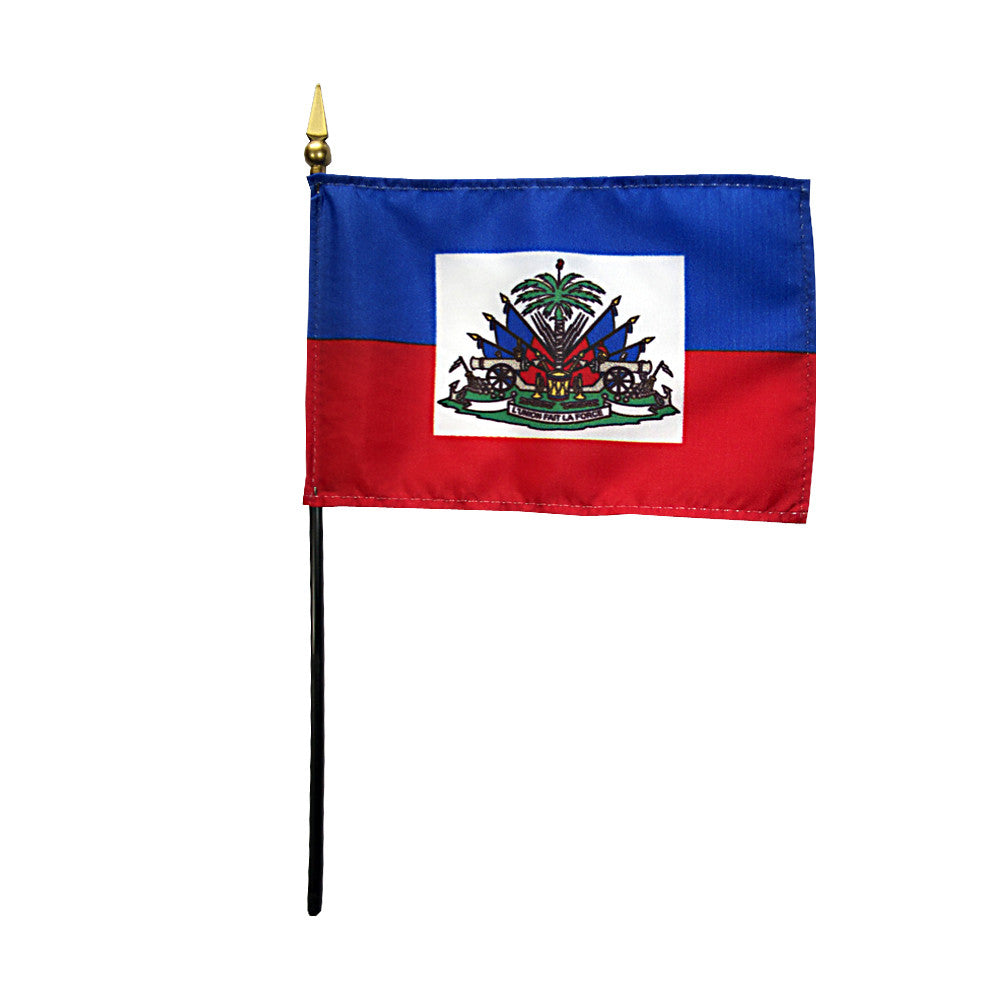 Miniature Haiti Flag - ColorFastFlags | All the flags you'll ever need!