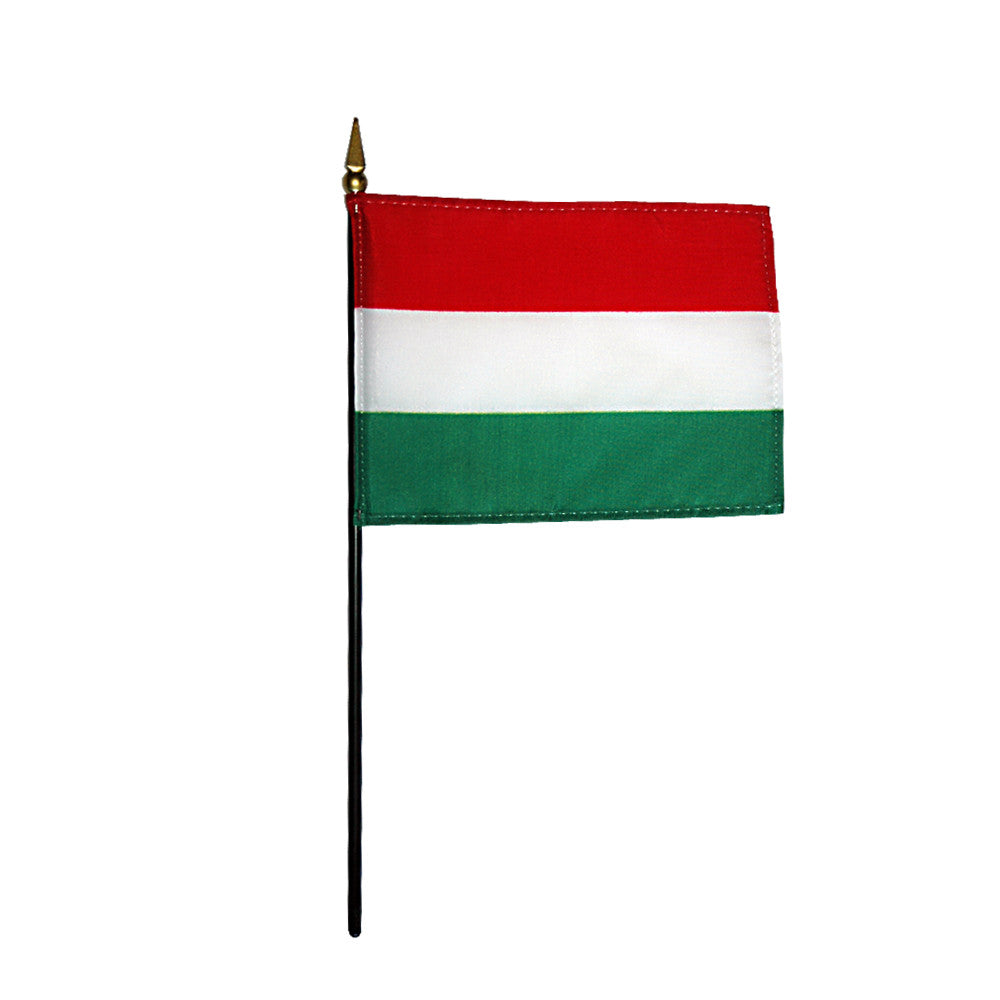 Miniature Hungary Flag - ColorFastFlags | All the flags you'll ever need!
