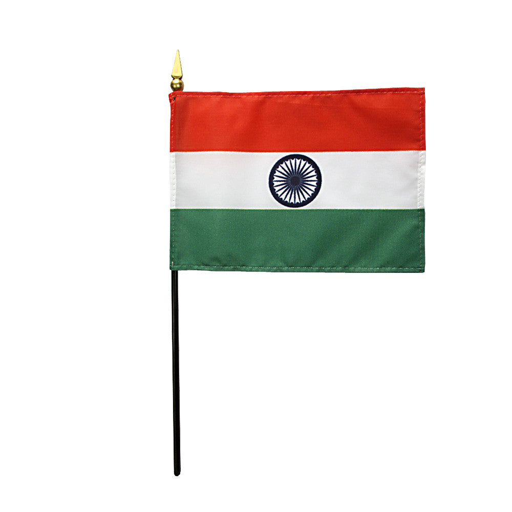 Miniature India Flag - ColorFastFlags | All the flags you'll ever need!