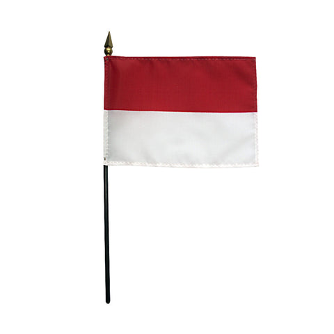 Miniature Indonesia Flag - ColorFastFlags | All the flags you'll ever need!