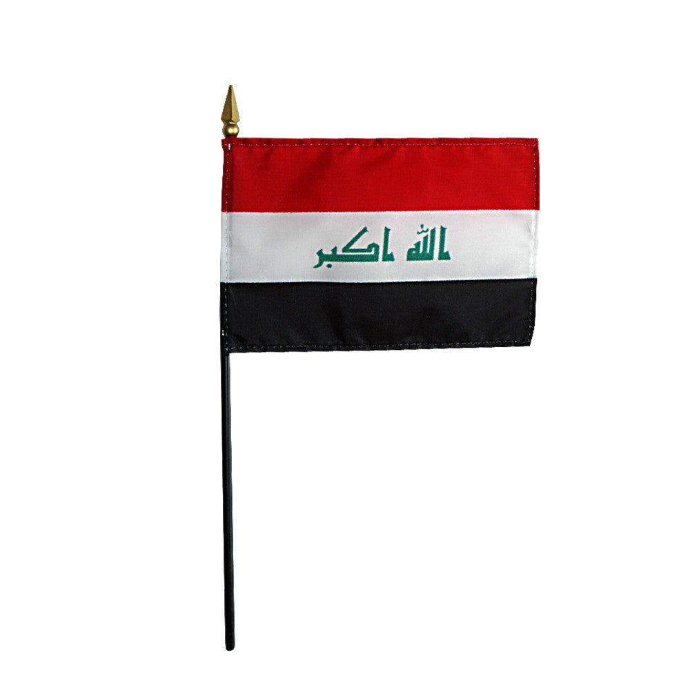Miniature Iraq Flag - ColorFastFlags | All the flags you'll ever need!