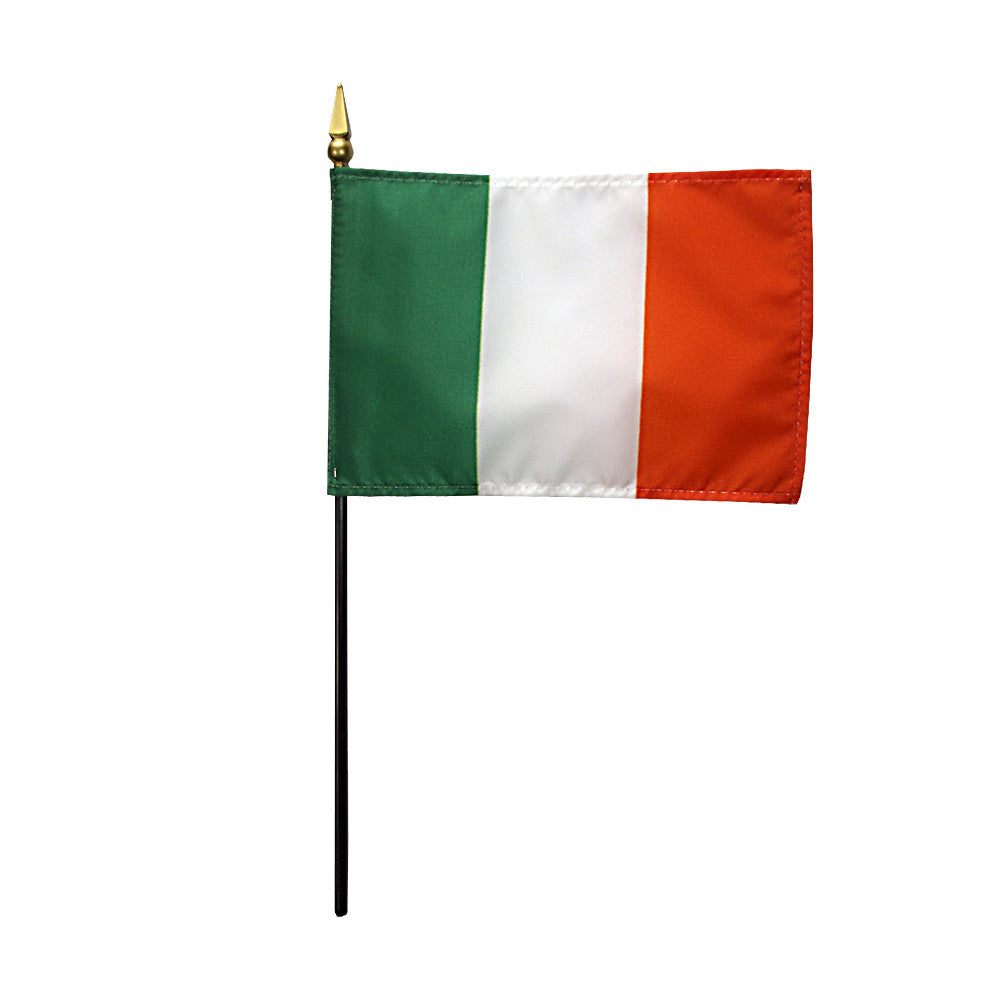 Miniature Ireland Flag - ColorFastFlags | All the flags you'll ever need!