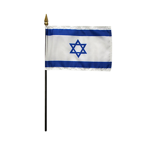 Miniature Israel Flag - ColorFastFlags | All the flags you'll ever need!