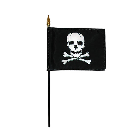 Miniature Jolly Roger/Pirate Flag - ColorFastFlags | All the flags you'll ever need!