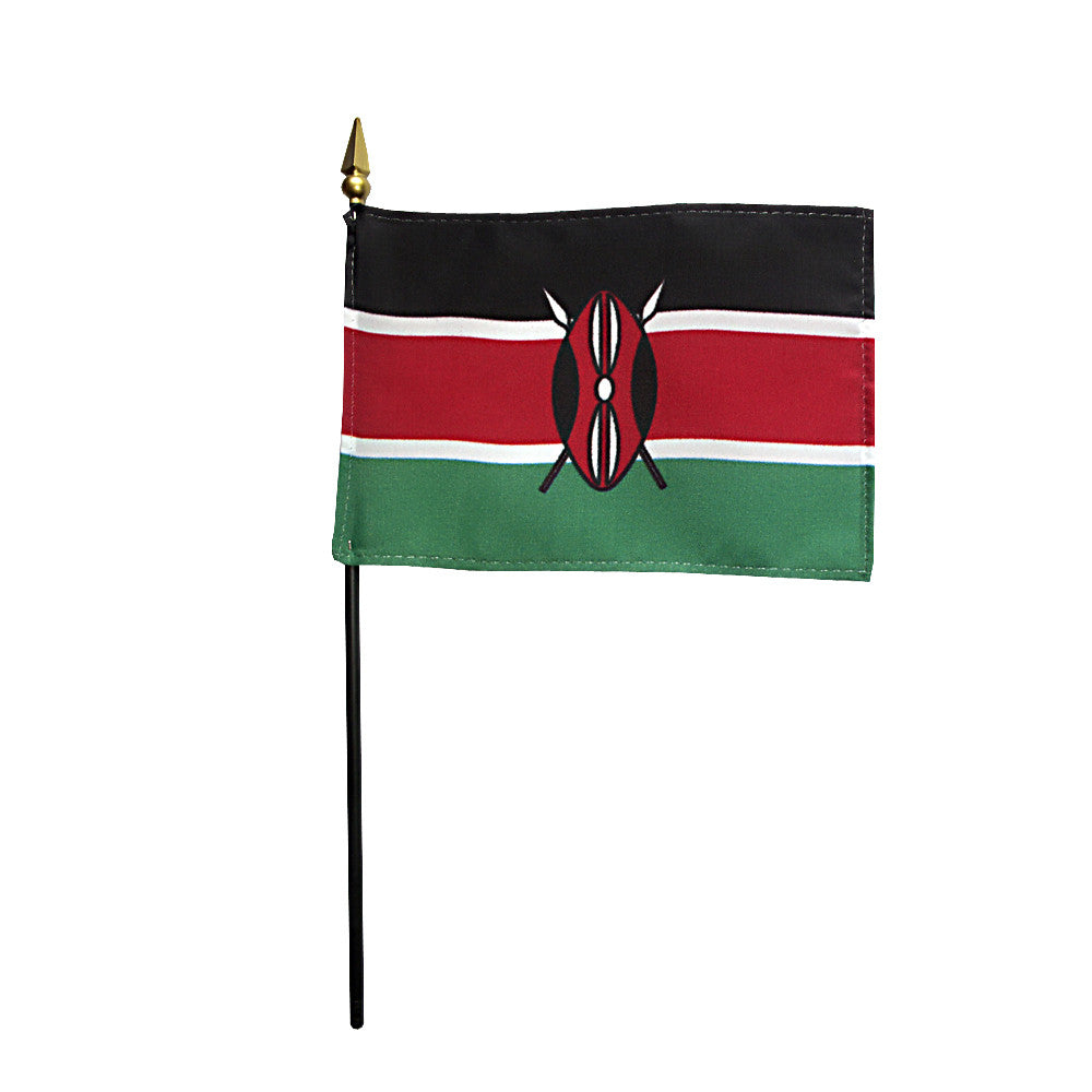 Miniature Kenya Flag - ColorFastFlags | All the flags you'll ever need!