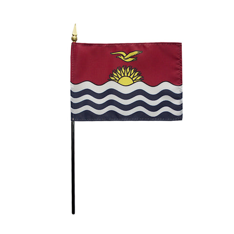 Miniature Kiribati Flag - ColorFastFlags | All the flags you'll ever need!