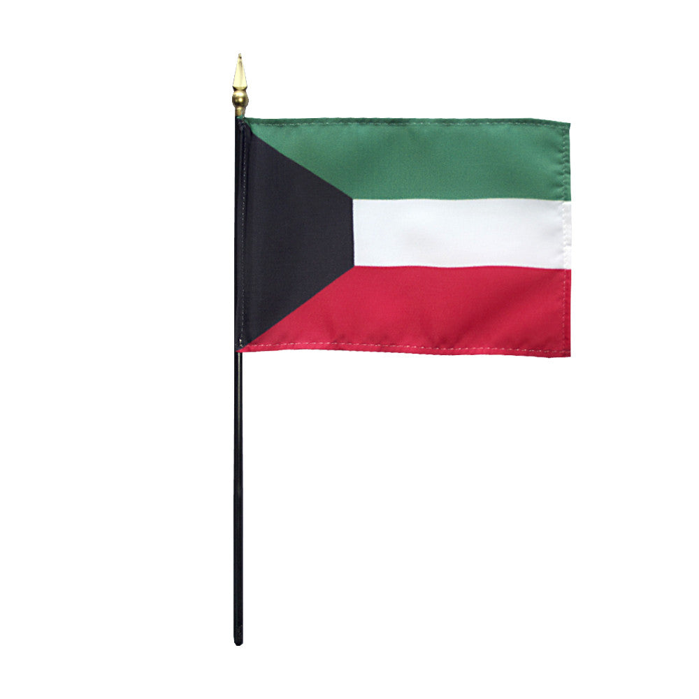 Miniature Kuwait Flag - ColorFastFlags | All the flags you'll ever need!