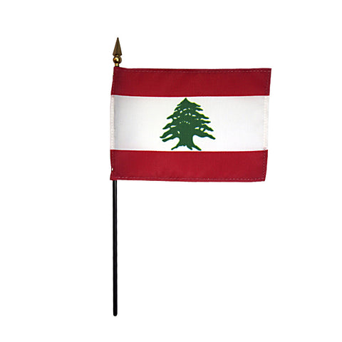 Miniature Lebanon Flag - ColorFastFlags | All the flags you'll ever need!