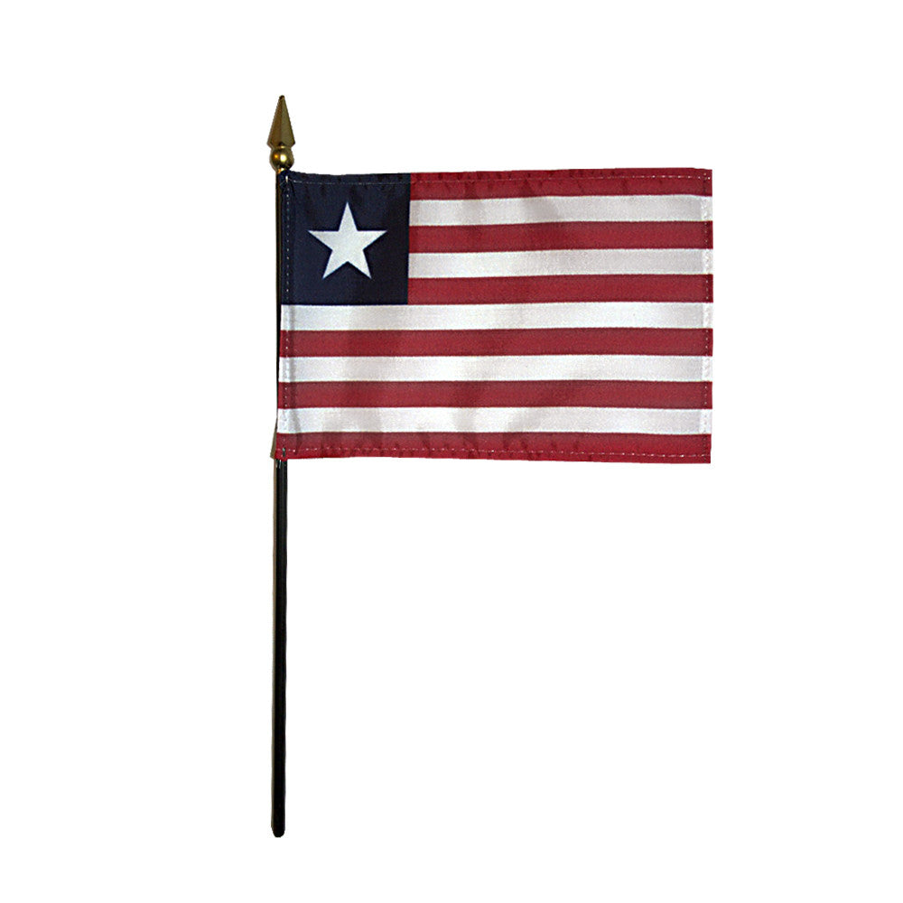 Miniature Liberia Flag - ColorFastFlags | All the flags you'll ever need!