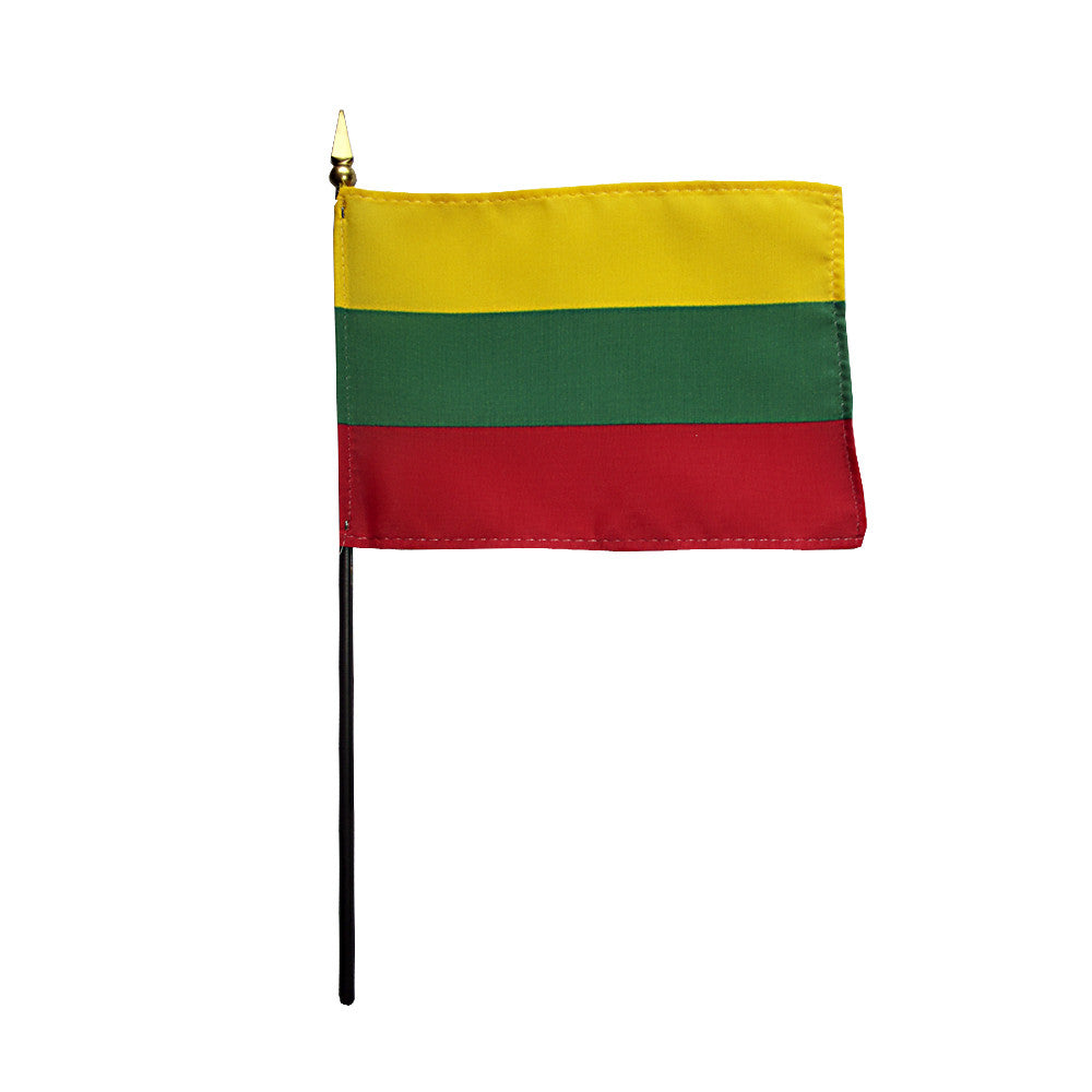 Miniature Lithuania Flag - ColorFastFlags | All the flags you'll ever need!