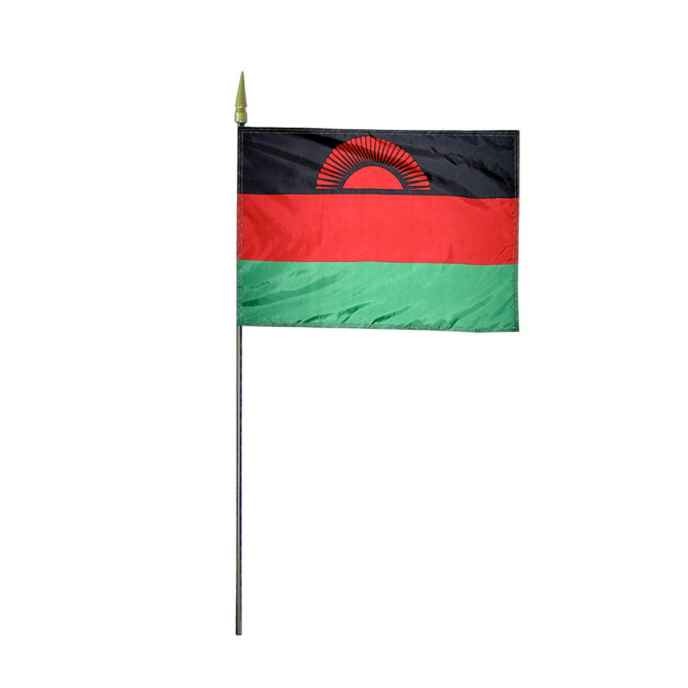 Miniature Malawi Flag - ColorFastFlags | All the flags you'll ever need!