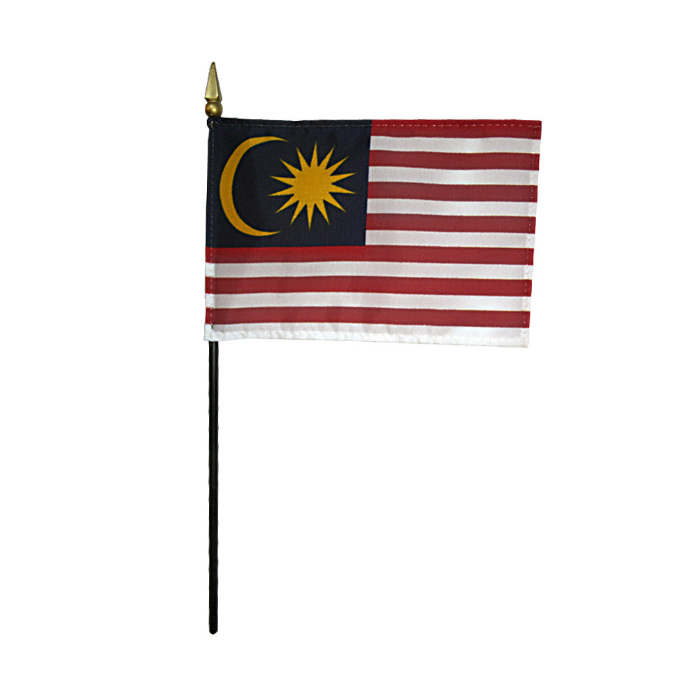 Miniature Malaysia Flag - ColorFastFlags | All the flags you'll ever need!