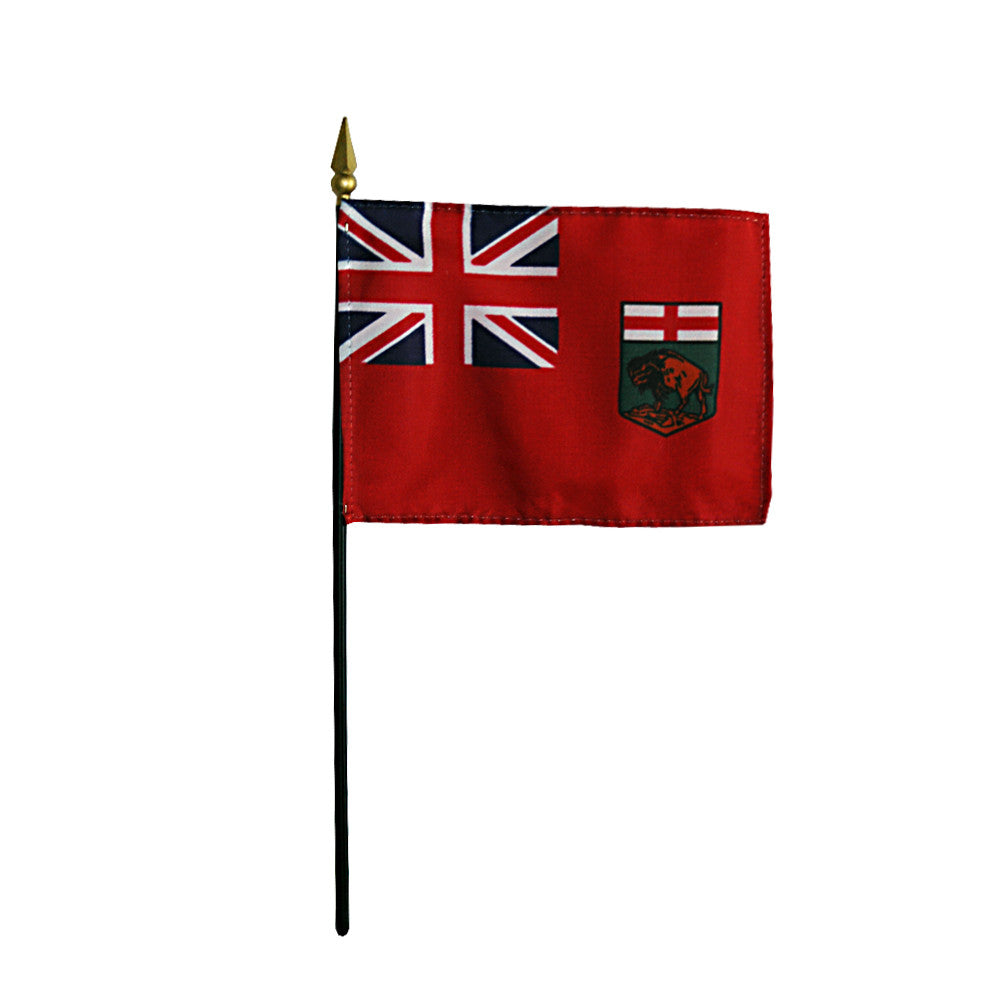 Miniature Manitoba Flag - ColorFastFlags | All the flags you'll ever need!