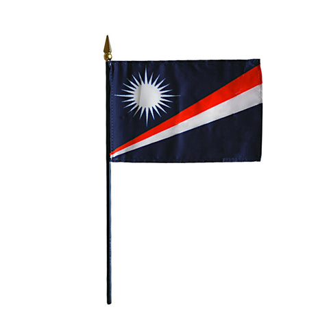 Miniature Marshall Islands Flag - ColorFastFlags | All the flags you'll ever need!