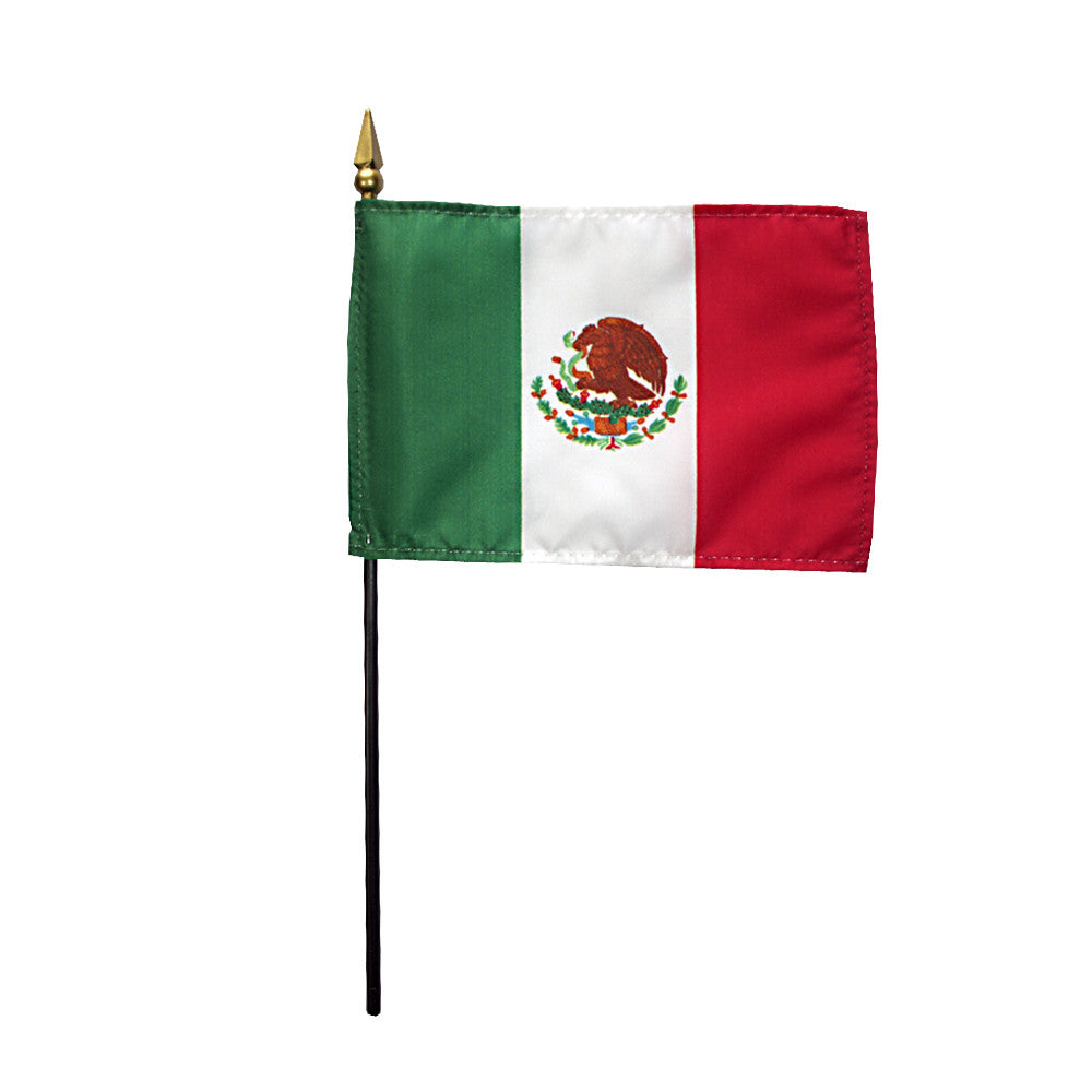 Miniature Mexico Flag - ColorFastFlags | All the flags you'll ever need!