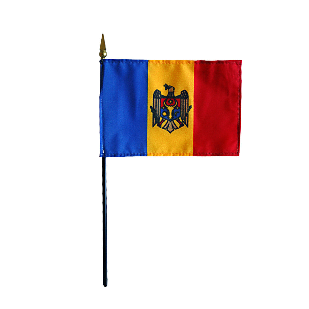 Miniature Moldova Flag - ColorFastFlags | All the flags you'll ever need!