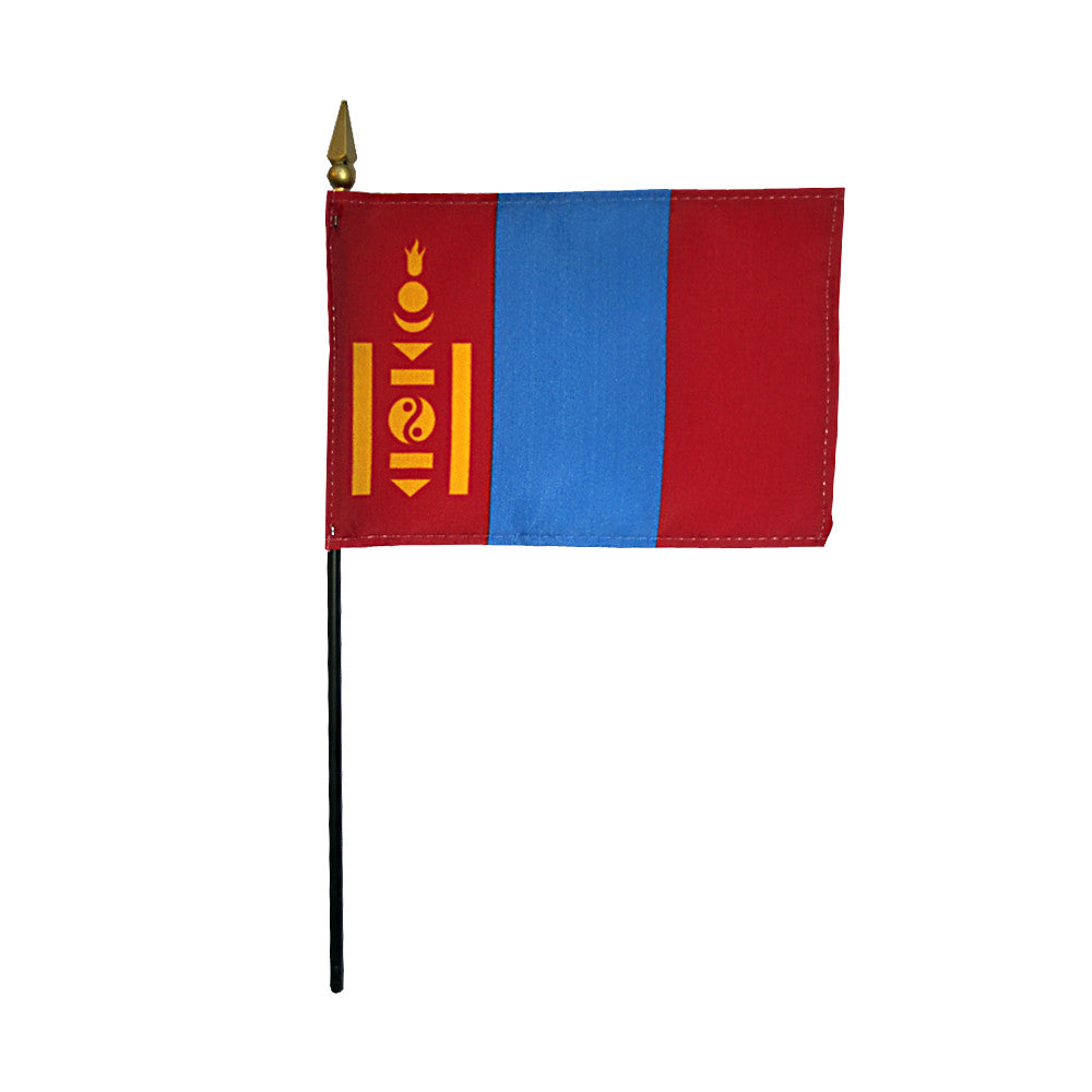 Miniature Mongolia Flag - ColorFastFlags | All the flags you'll ever need!