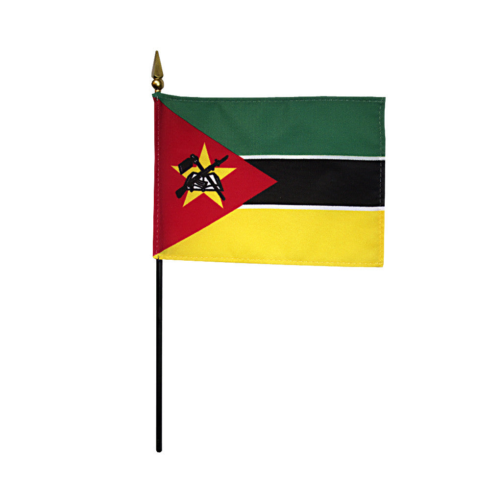 Miniature Mozambique Flag - ColorFastFlags | All the flags you'll ever need!   - 2