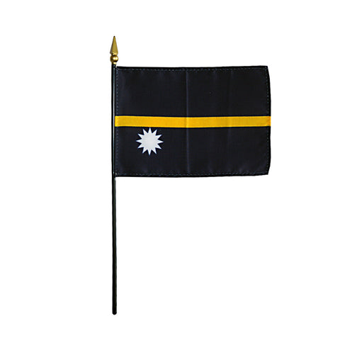 Miniature Nauru Flag - ColorFastFlags | All the flags you'll ever need!   - 2