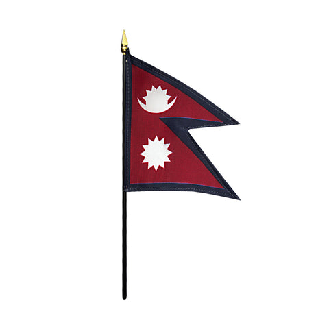 Miniature Nepal Flag - ColorFastFlags | All the flags you'll ever need!