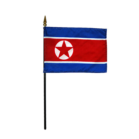 Miniature North Korea Flag - ColorFastFlags | All the flags you'll ever need!