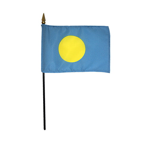 Miniature Palau Flag - ColorFastFlags | All the flags you'll ever need!