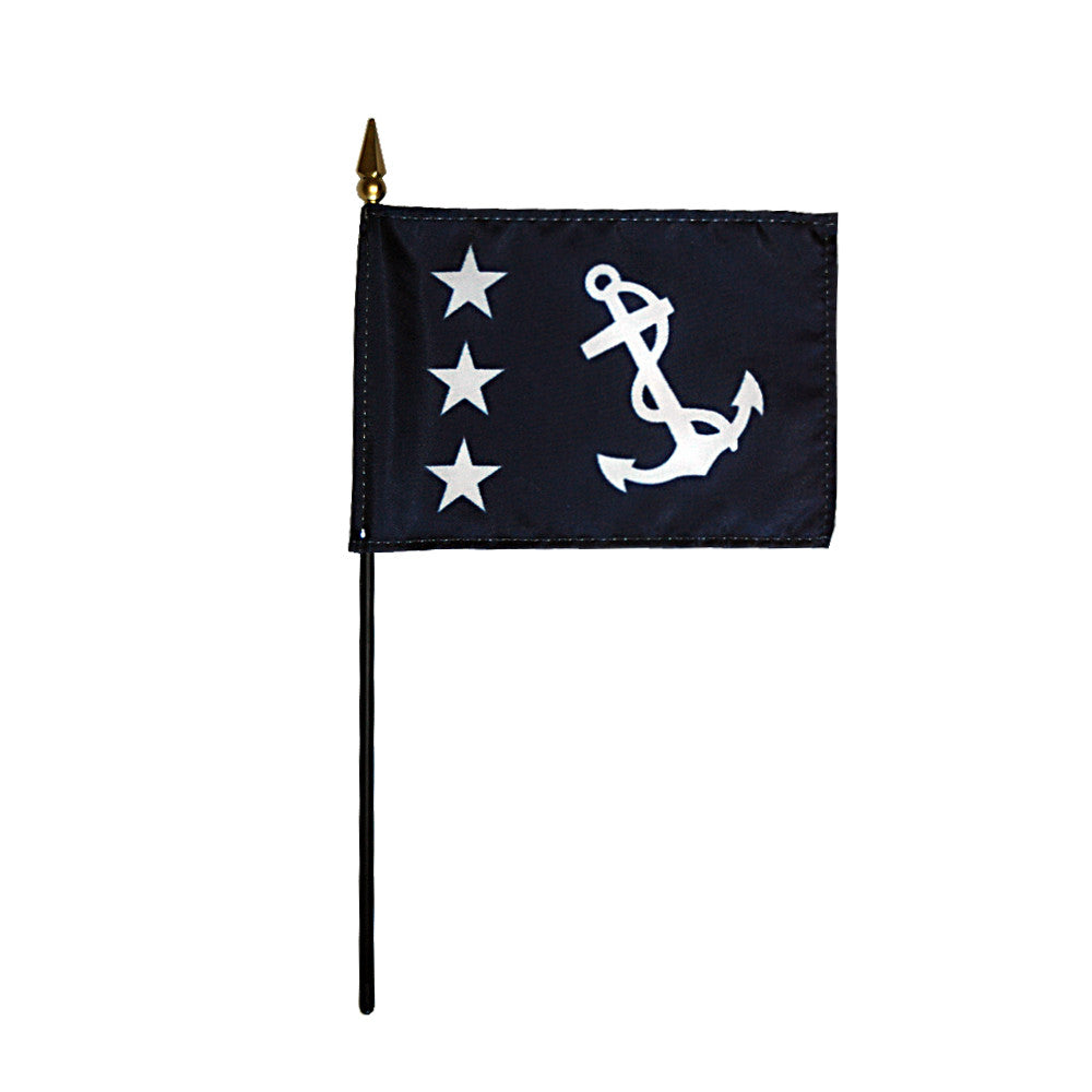 Miniature Past Commodore Flag - ColorFastFlags | All the flags you'll ever need!