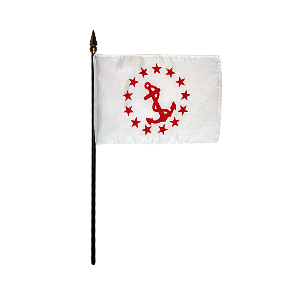 Miniature Rear Commodore Flag - ColorFastFlags | All the flags you'll ever need!