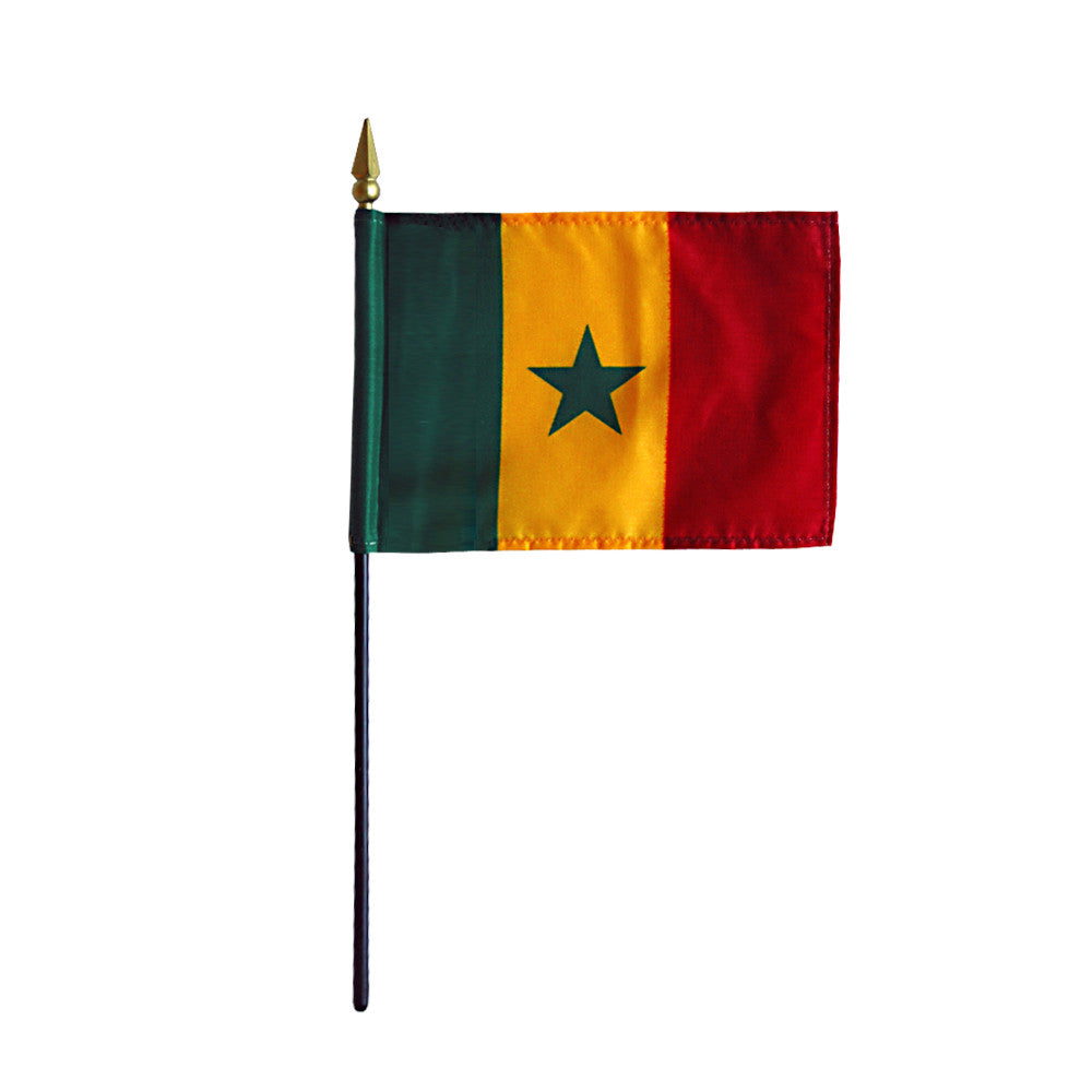 Miniature Senegal Flag - ColorFastFlags | All the flags you'll ever need!   - 2