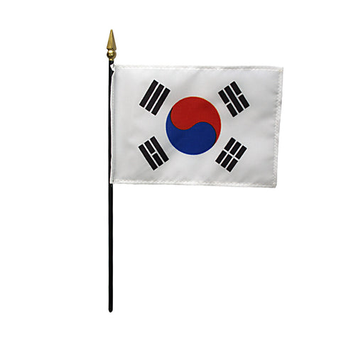 Miniature South Korea Flag - ColorFastFlags | All the flags you'll ever need!