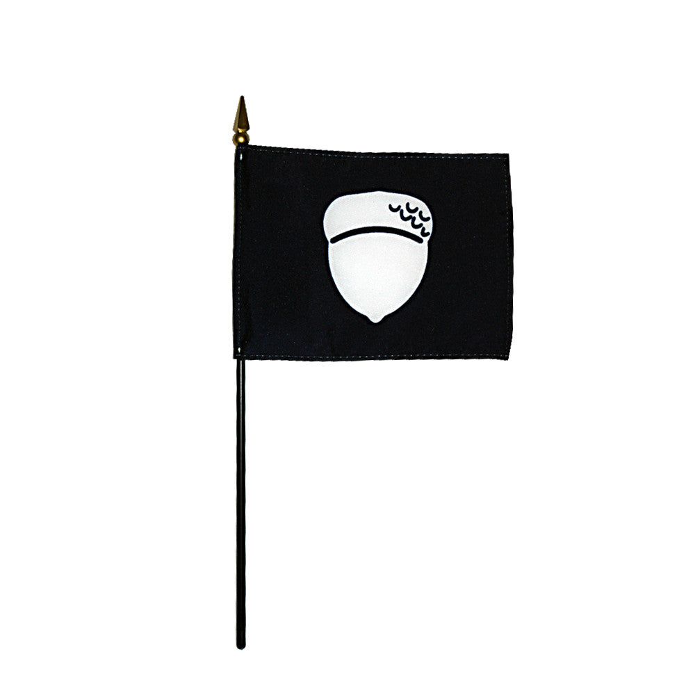 Miniature Treasurer Acorn Flag - ColorFastFlags | All the flags you'll ever need!